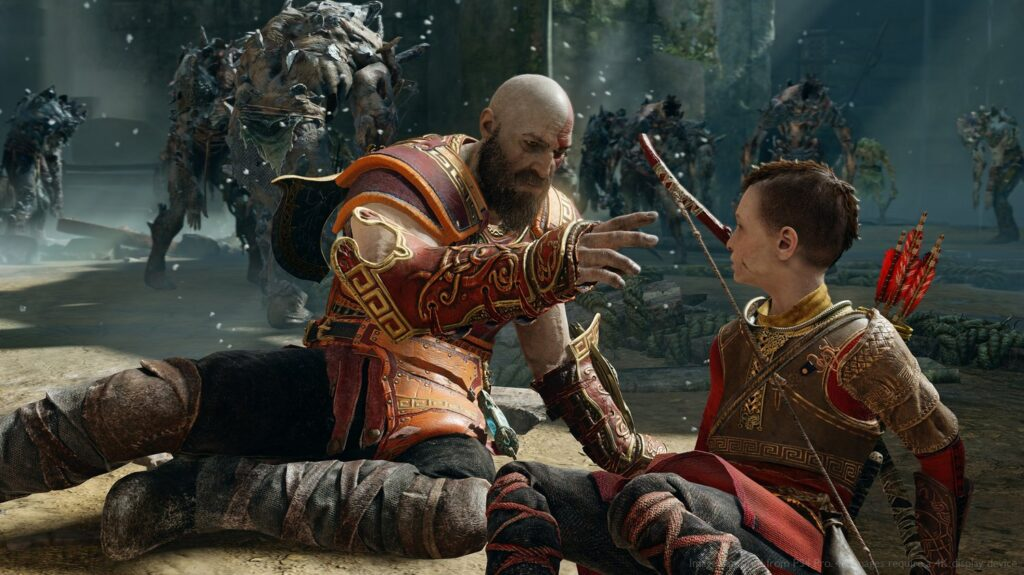 God of war new game plus armor